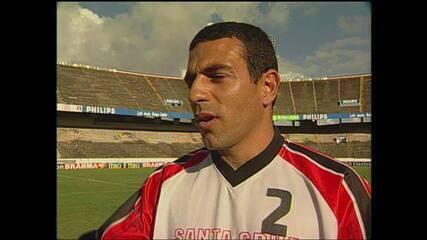 Lembre lances de Luizinho Vieira pelo Santa Cruz