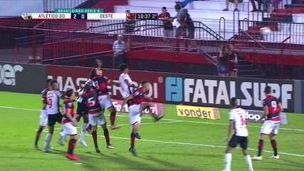 Melhores momentos: Atlético-GO 2 x 0 Oeste pela 16ª rodada da Série B do Brasileiro
