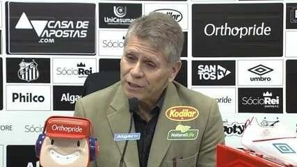 Veja a entrevista coletiva de Paulo Autuori no Santos