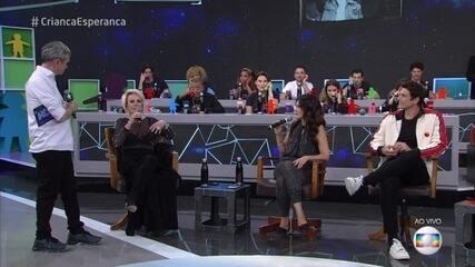 Fátima Bernardes e Ana Maria Braga falam sobre suas rotinas matinais