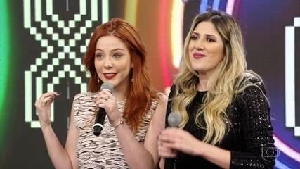 Bia Arantes e Dani Calabresa acertam a ultima campainha e Zé Ramalho vai ao palco