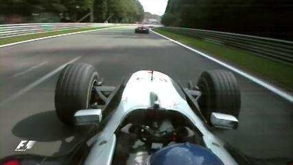 Volta onboard de Hakkinen em Spa, em 2000, antes de passar Schumacher