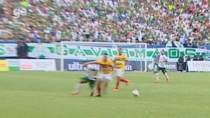 Sandro Meira Ricci não vê intensidade que justifique o cartão vermelho em falta de Airton sobre Vitinho