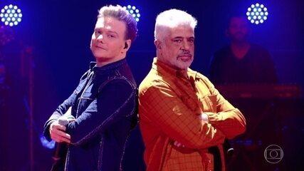 "Lulu Santos e Michel Teló cantam ""Deixa Isso Pra Lá / Rap da Felicidade"""