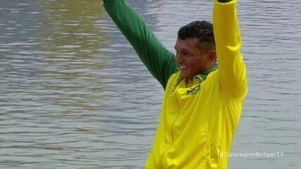 Brasil no pódio com Isaquias Queiróz no C1 1000
