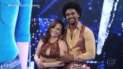 Apresentação de Luiza Tomé é avaliada no 'Dança dos Famosos'