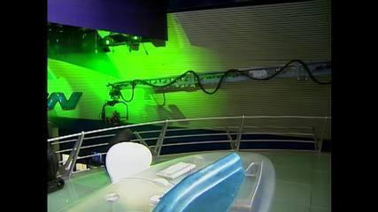 No ano 2000, 'Jornal Nacional' ganha novo cenário