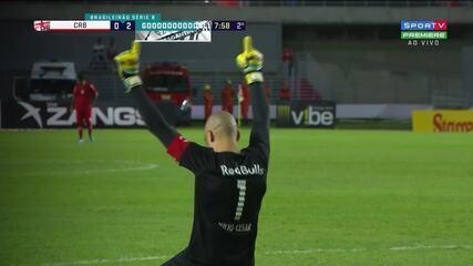 Assista aos gols de CRB 0 x 3 Bragantino pela Série B do Brasileiro