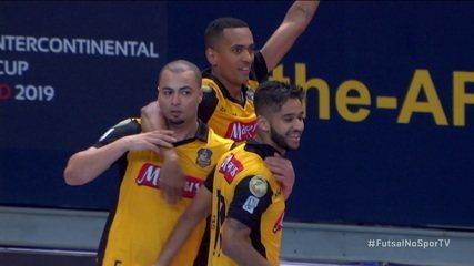 Os gols de ElPozo 2 x 3 Sorocaba pelo Mundial de Clubes de Futsal 2019