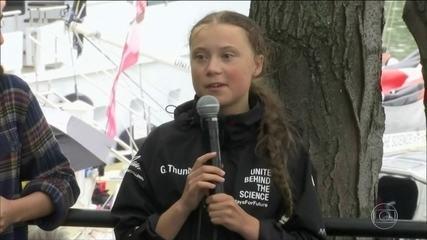 Greta Thumberg destaca importância da Amazônia no combate às mudanças climáticas