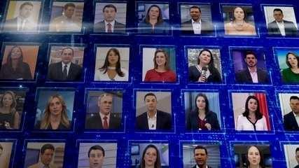 JN 50 anos: apresentadores de cada estado que vão estar na bancada do Jornal Nacional