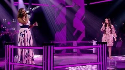 Lara Alanys e Pollyana Caires cantam 'N'