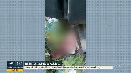 Polícia encontra mãe que abandonou bebê embaixo de um carro, em São Gonçalo
