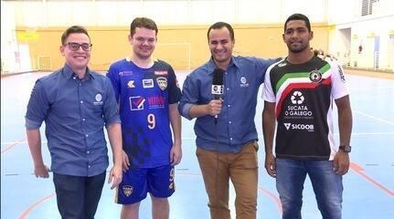 Pré-jogo: jogadores da AABB e JES esquentam rivalidade antes da final da Taça Clube