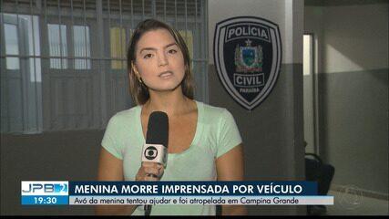 Criança morre imprensada por caminhão em Campina Grande