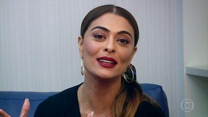 Juliana Paes afirma que sente orgulho de Agatha Moreira