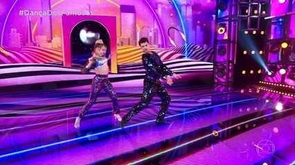 Matheus Abreu dança com Larissa Lannes