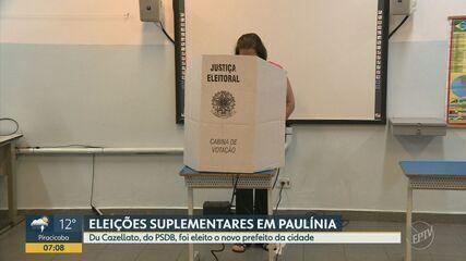 Du Cazellato, do PSDB, é eleito o novo prefeito de Paulínia