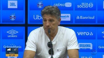 Renato Portaluppi rebate declarações de Jorge Jesus, técnico do Flamengo