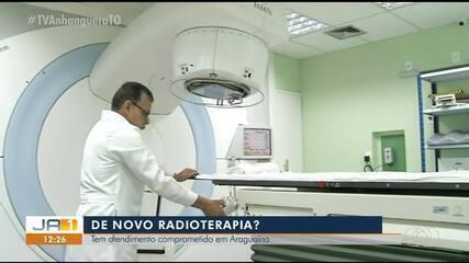 Radioterapia volta a ficar comprometida 15 dias após retorno do serviço em Araguaína