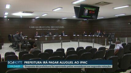 Prefeitura de Cascavel vai pagar aluguel para usar o prédio que já foi dela