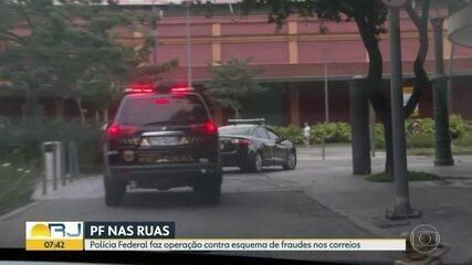 PF faz operação contra esquema de fraudes nos Correios