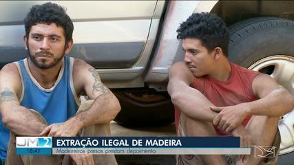Madeireiros que foram presos por índios no MA prestam depoimento na Polícia Federal