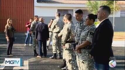 Secretário de Segurança Pública visita Centro Socioeducativo e penitenciária de Uberaba