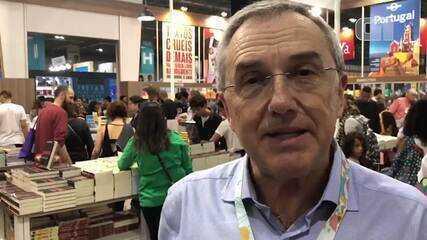 Laurentino Gomes comenta pedido para recolhimento de livros na Bienal do Rio