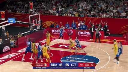 Melhores momentos de Brasil 71x93 República Tcheca pela Copa do Mundo de basquete masculino