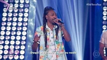 Pixote canta 'Nem de Graça'