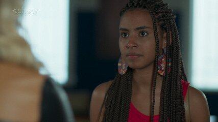 11/9 - Teaser 'Malhação - Toda Forma de Amar': Jaqueline confronta Karina