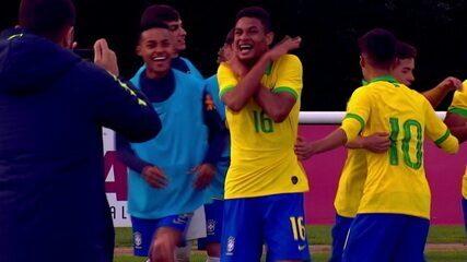 Melhores momentos de Brasil 4 x 0 Austrália em Amistoso da Seleção Sub-17