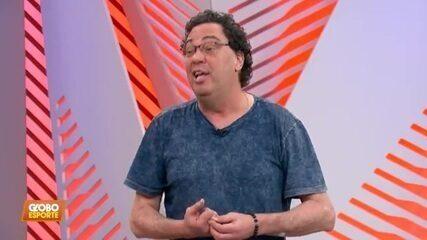 """Casagrande responde a pergunta de Filipe Luís e diz: """"Se o Flamengo fosse uma banda, seria os Beatles"""""""