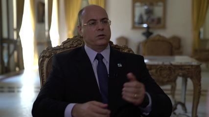 Andréia Sadi entrevista o governador do Rio, Wilson Witzel