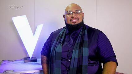Élri El revela que além de cantar no palco do The Voice Brasil, o participante é advogado