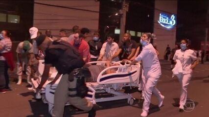 Incêndio atinge hospital na Zona Norte do Rio; 11 pessoas morreram
