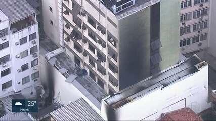 Light diz que não houve registro de interrupção na rede antes do incêndio no hospital