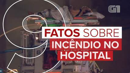 9 fatos sobre: incêndio no hospital