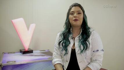 Paula Araujo, do Time Lulu, conta que além de cantar, adora fazer maquiagem de halloween