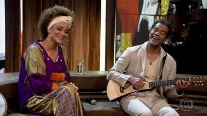 Luciana Mello e Jair Oliveira cantam sucessos de Jair Rodrigues