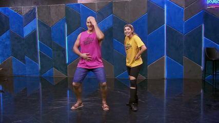 Veja o ensaio de Junior Cigano com Ana Paula Guedes para o forró no 'Dança dos Famosos'