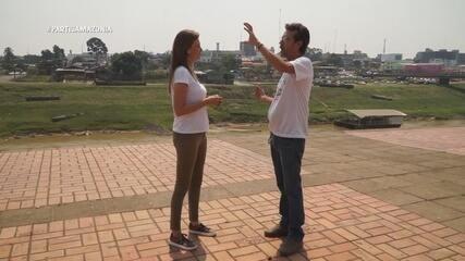 Parte 1: Julinha começa passeio por Rio Branco na Gameleira