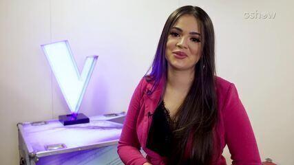 Cantora do Time Teló já subiu ao palco com Daniel, Simone e Simaria e Wesley Safadão antes de participar do 'The Voice Brasil'