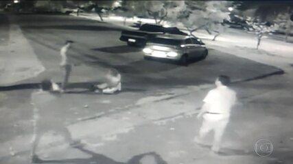 Vídeo mostra personal trainer agredindo namorada em Goiânia
