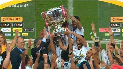 Athletico vence o Internacional e é campeão da Copa do Brasil