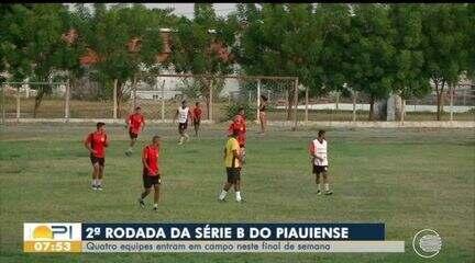 Quatro equipes entram em campo pela Série B do Piauiense este fim de semana