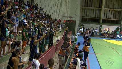 Lagarto goleia e se classifica para a segunda fase da Copa TV Sergipe de Futsal