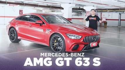 Os truques do Mercedes-AMG GT 63 S quatro portas para enfrentar o Porsche Panamera