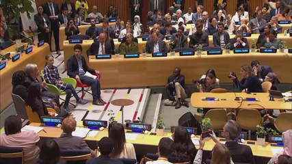 ONU abre cúpula do clima ouvindo jovens lideranças